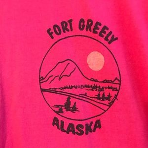 Fort Greely Alaska Vintage 80's 90's USA XL Shirt